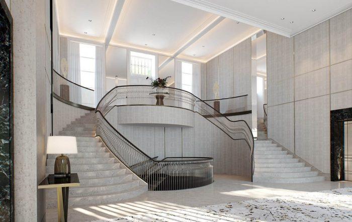 Regents Crescent interior